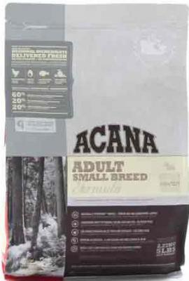 ACANA Adult Small Breed Köpek Maması 2 Kg.