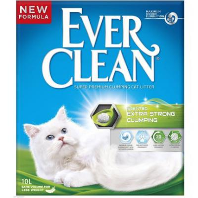 Ever Clean Extra Strong Scented Kedi Kumu 10 Lt.