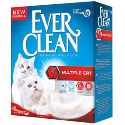 Ever Clean Multiple Cat Kedi Kumu 10 Lt.