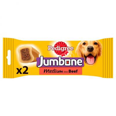 Pedigree Jumbone Medium With Beef x2